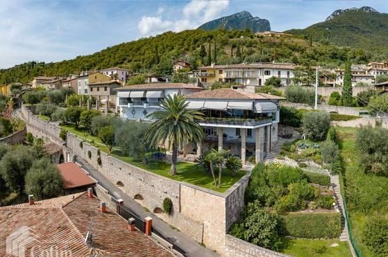 Haus Villa mit Seeblick, Gardasee, Cecina (Toscolano-Maderno)
